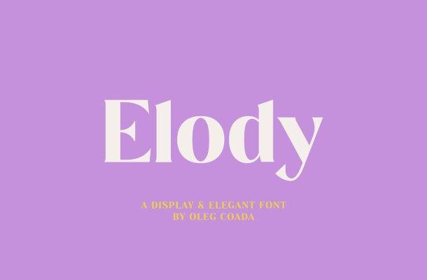 Elody Font