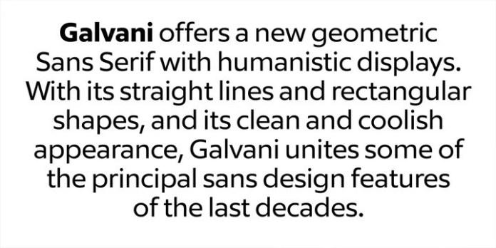 Galvani Font-3
