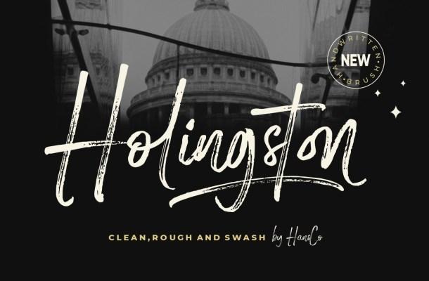 Holingston Font