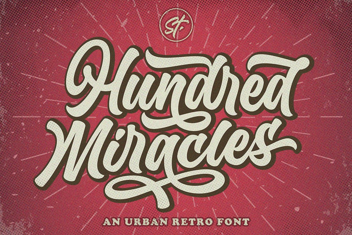 Hundred Miracles Font