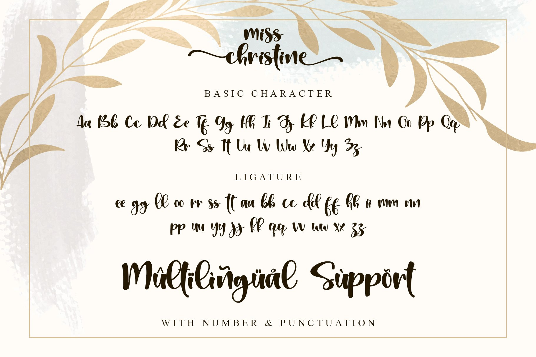 Miss Christine Font-3