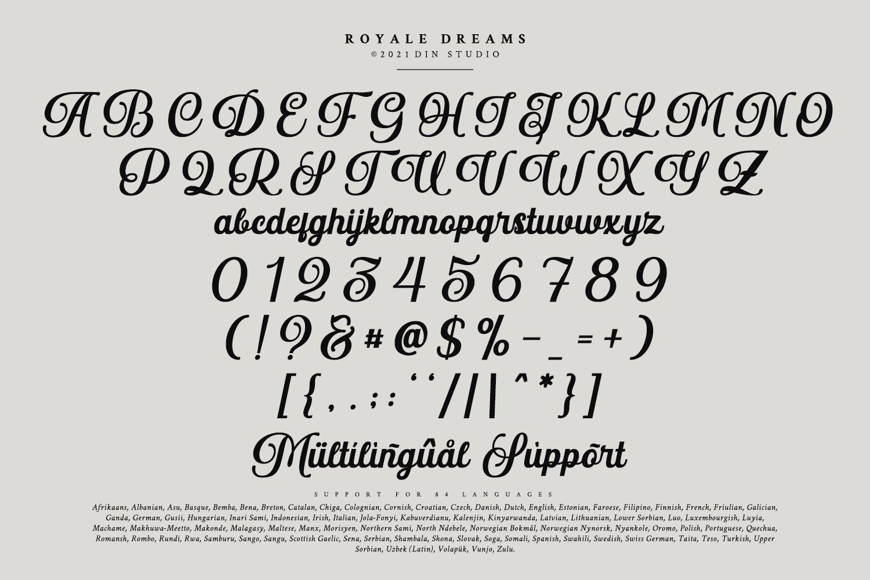 Royale Dreams Font-3