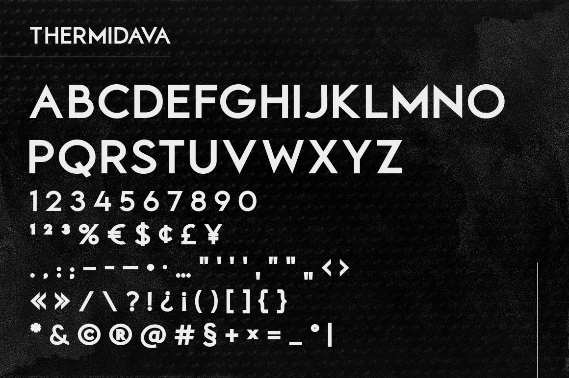 Thermindava Font-3