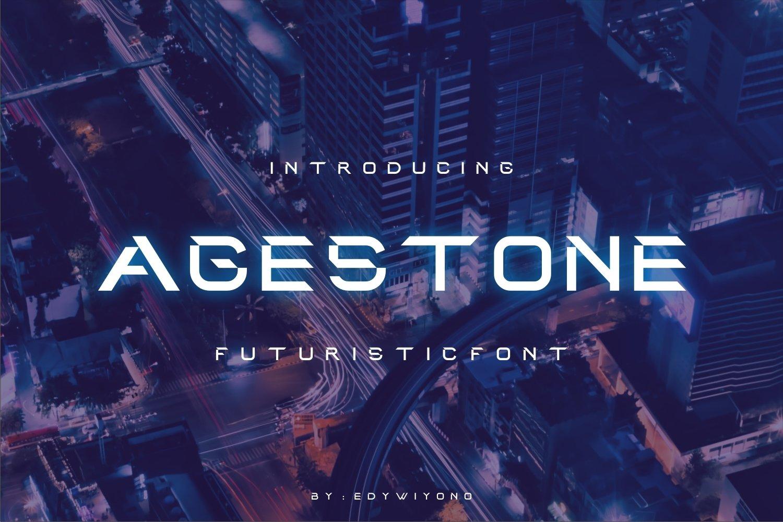 Agestoned Font