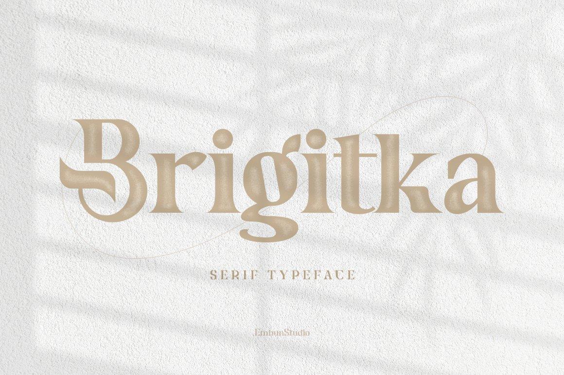 Brigitka Font