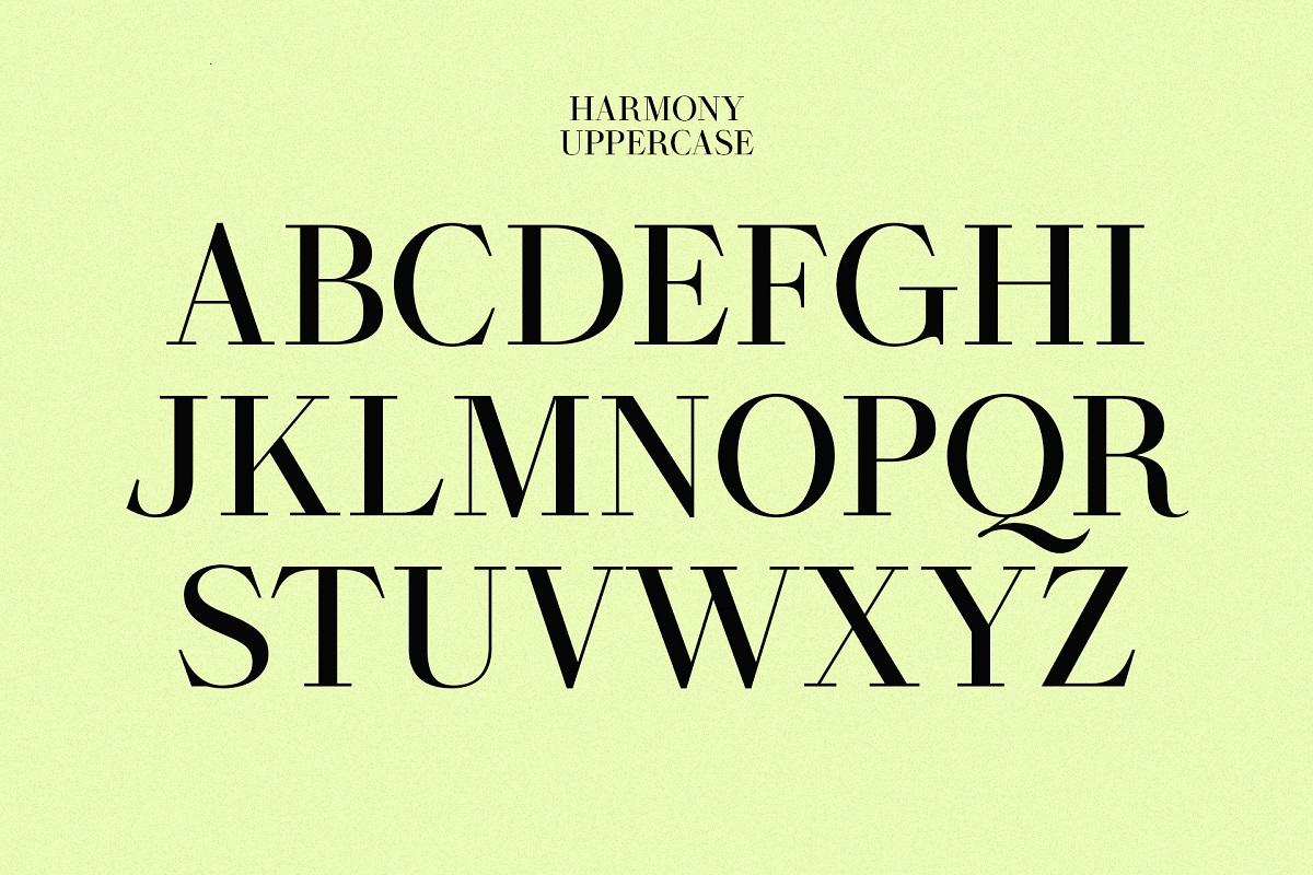 Harmony Font-2