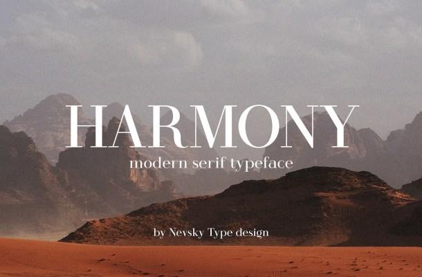 Harmony Font