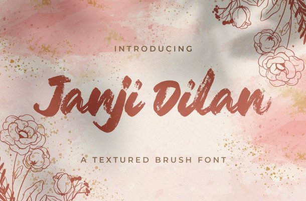 Janji Dilan Font