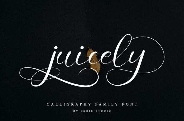 Juicely Font