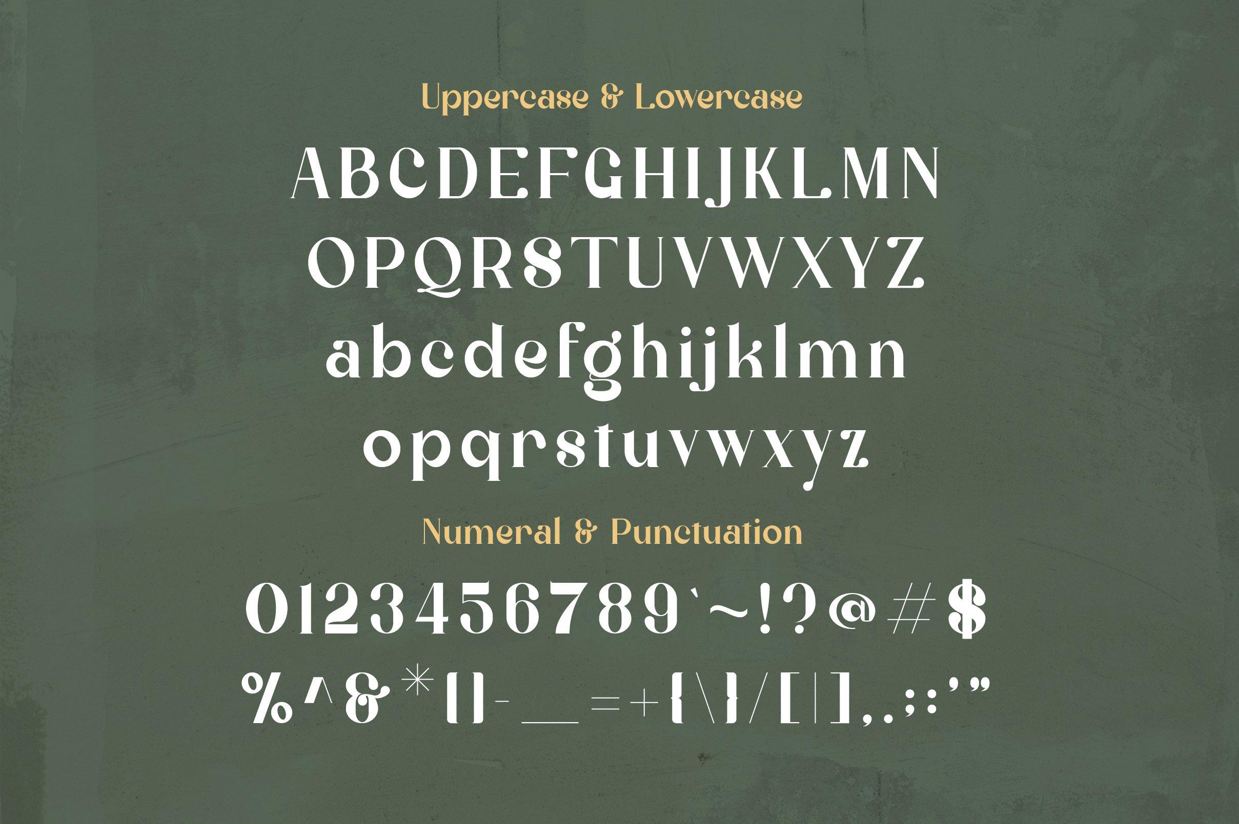 Milestone Font-3