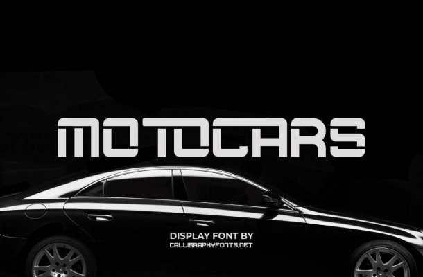 Motocars Font