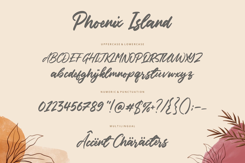 Phoenix Island Font-3