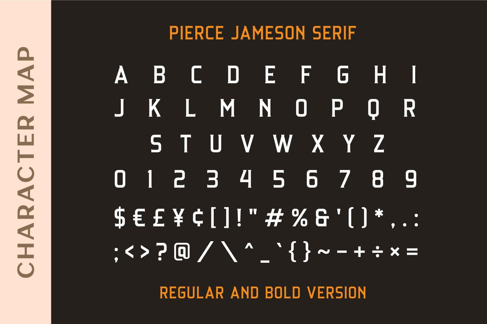 Pierce Jameson Font Duo-4