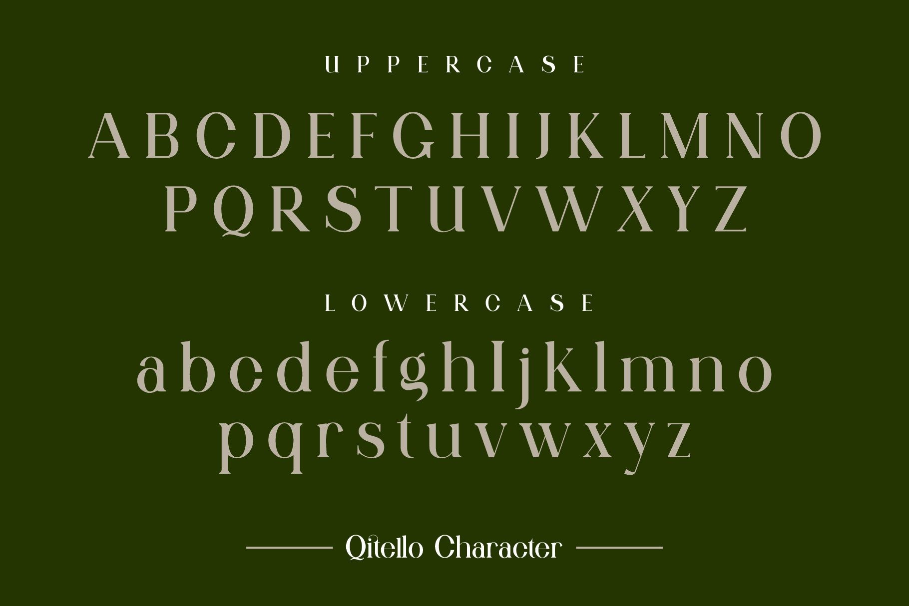 Qitello Font-2