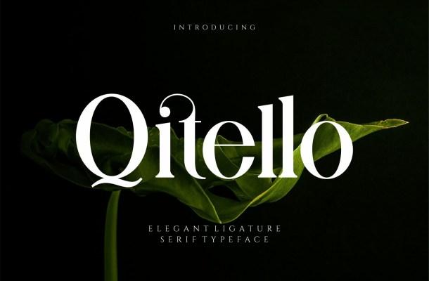 Qitello Font