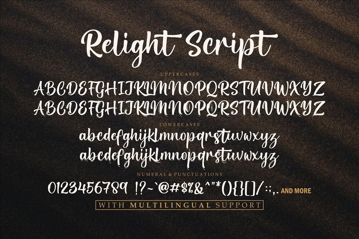 Relight Font-3