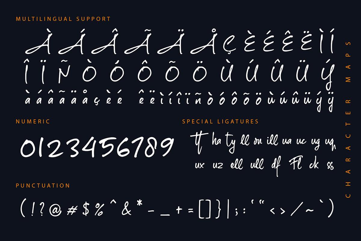The Rambler Font-3