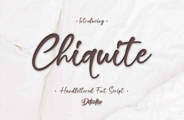 Chiquite Font