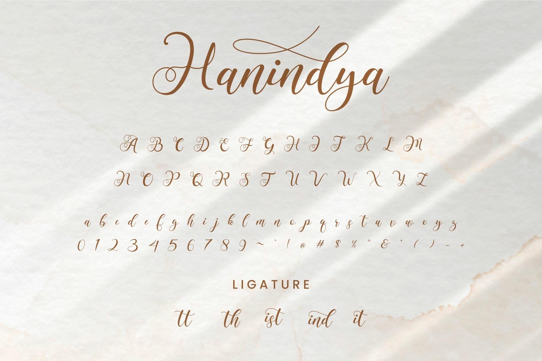 Hanindya Font-3