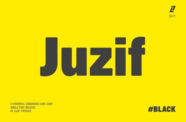 Juzif Font Family