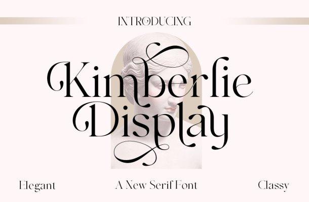 Kimberlie Font