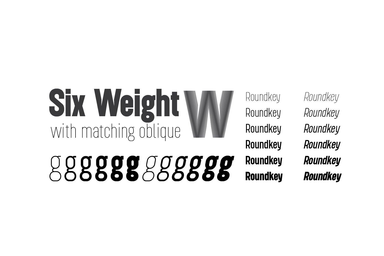 Roundkey Font Family-2