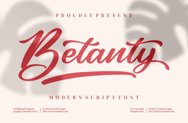 Betanty Font