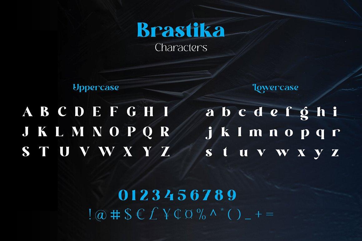 Brastika Font-3
