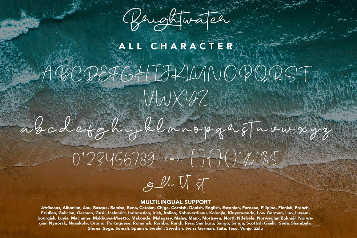 Brightwater Font-3