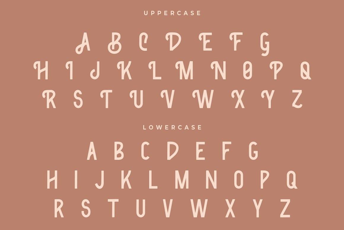 Classic Bronze Font-2