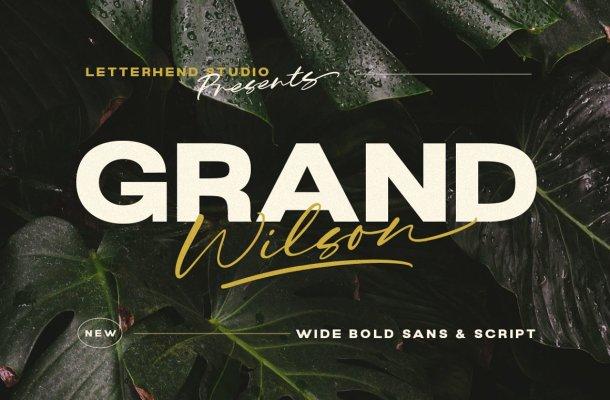 Grand Wilson Font