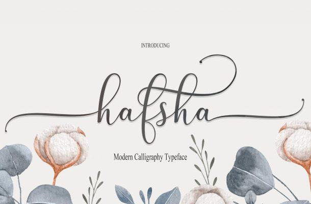 Hafsha Font