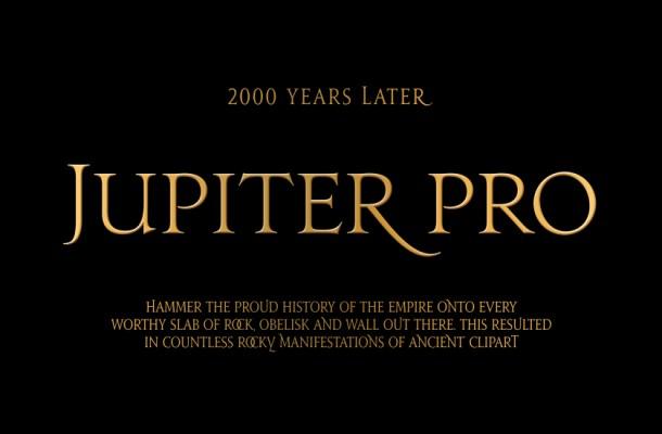 Jupiter Pro Font