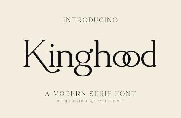 Kinghood Font