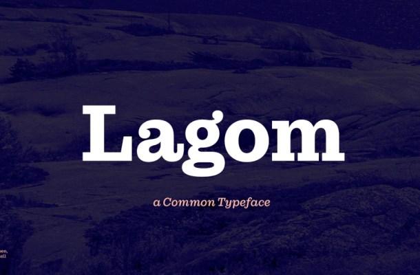 Lagom Font
