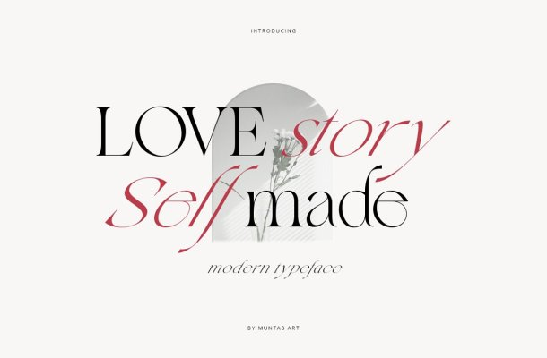 Love Story Self Made Font