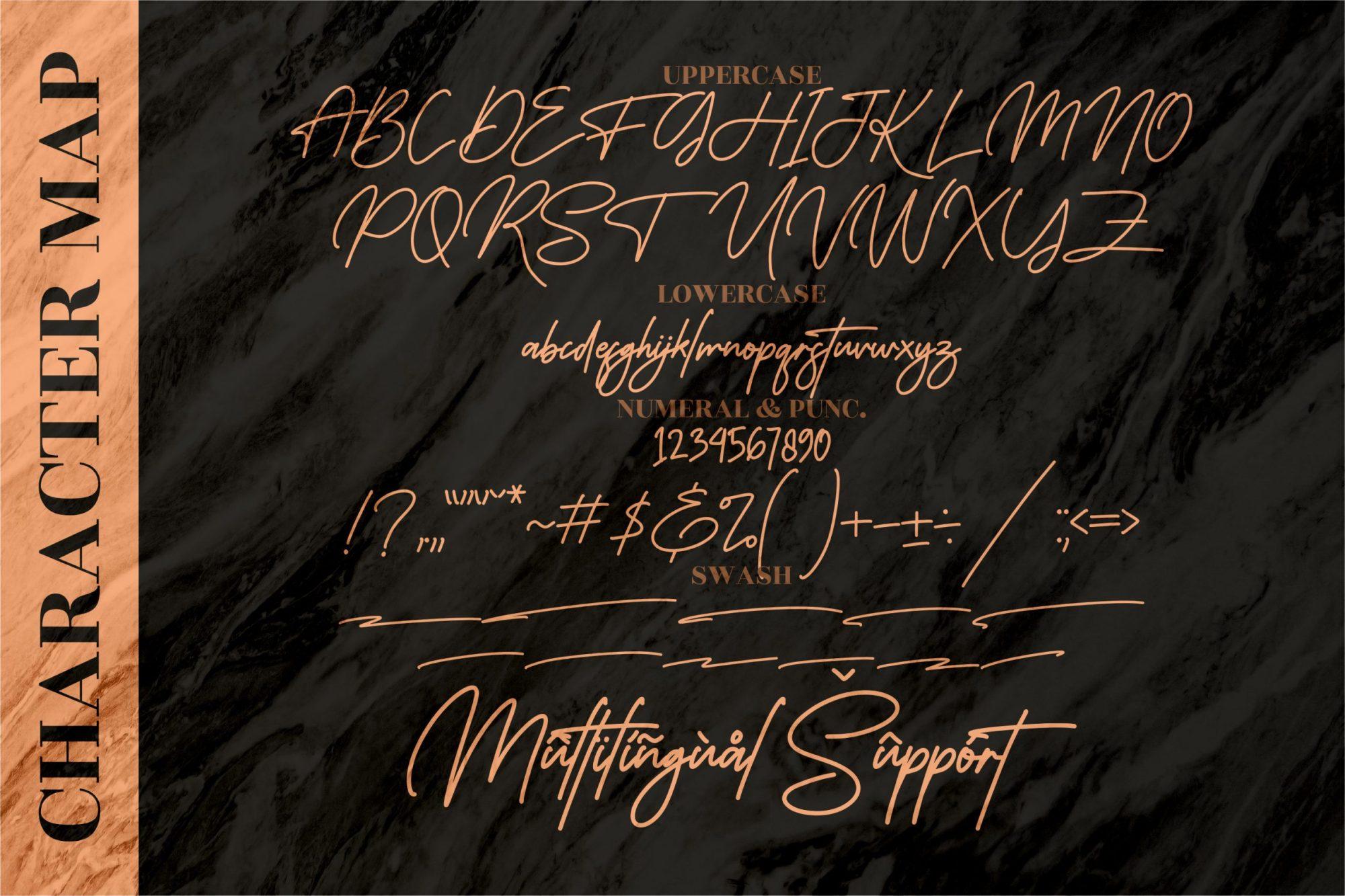 Monoline Signature Font-3