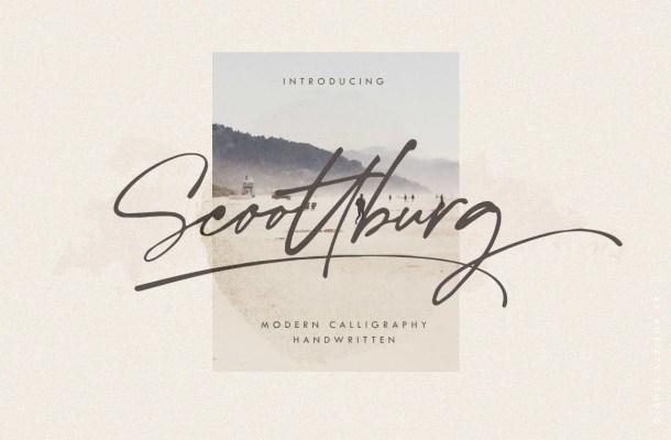 Scoottburg Font