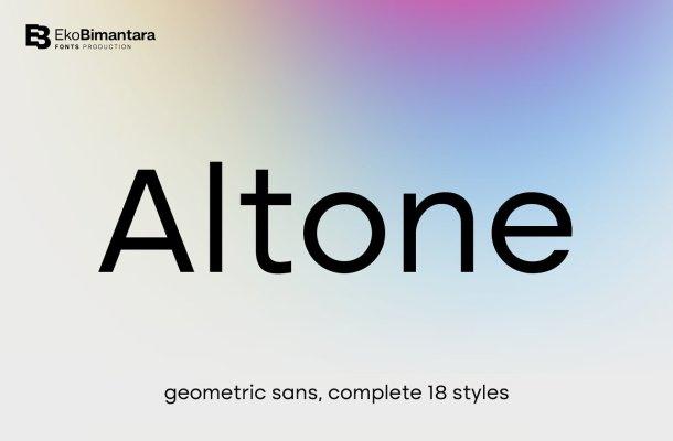 Altone Font Family