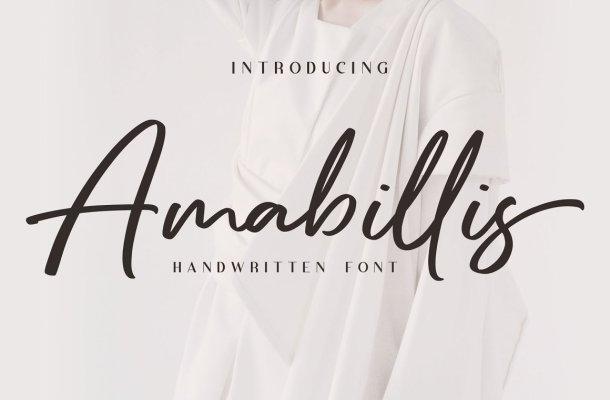 Amabillis Font