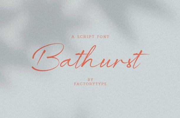 Bathrust Font