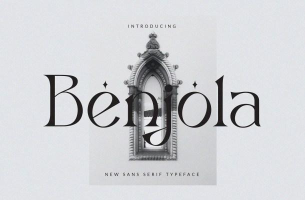 Benjola Font