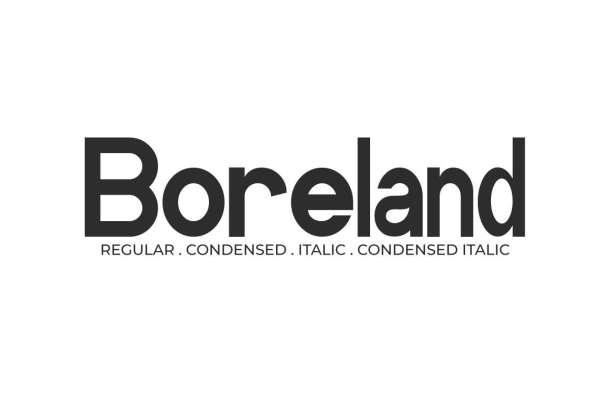 Boreland Font