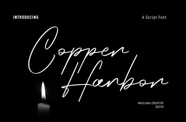 Copper Harbor Font