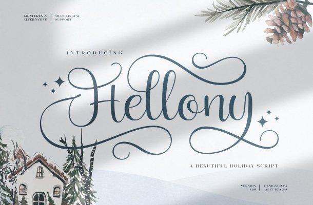 Hellony Font