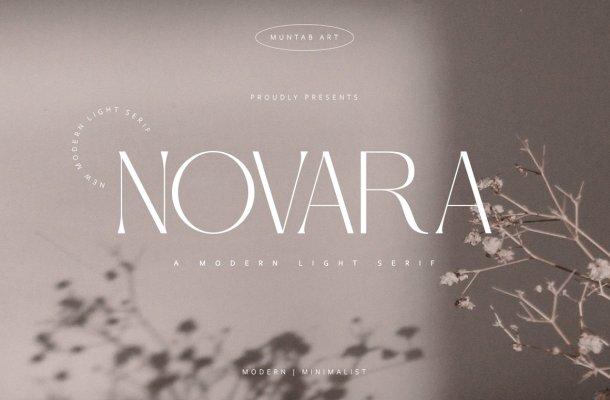 Novara Font