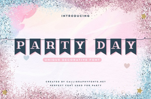 Party Day Font