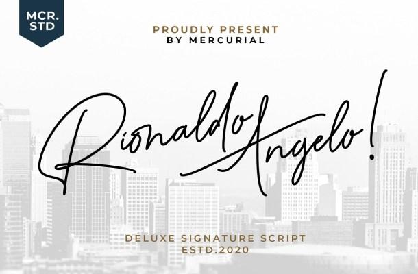 Rionaldo Angelo Font
