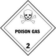 Simbol Bahan Kimia Berbahaya gas beracun