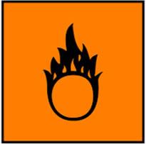 Simbol Bahan Kimia Berbahaya- teroksidasi